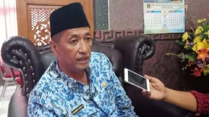 Bambang Irianto selaku Kepala Dinas Pendidikan Sumenep. (FOTO: NUSANTARANEWS.CO/Mahdi)