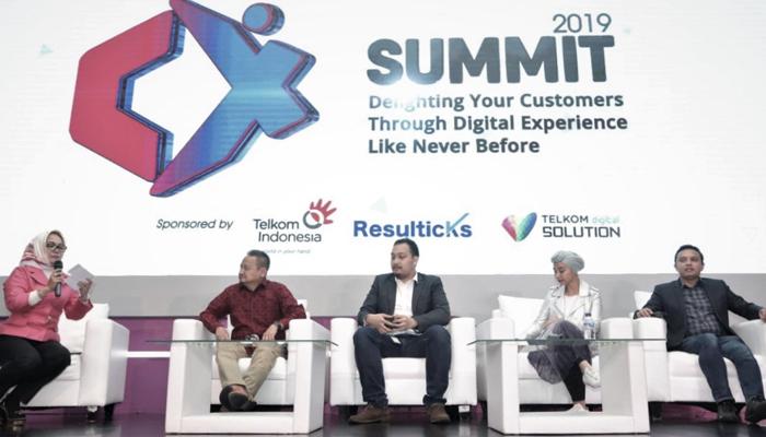 CX SUMMIT 2019 Manjakan Pelanggan Melalui Pengalaman Digital Terbaik. (Foto Istimewa)