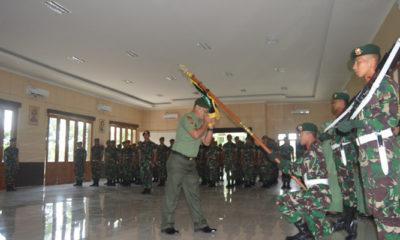 Danyonarmed Divif 2 Konstrad Lepas Satu Kesatria Angicipi. (Foto Istimewa)