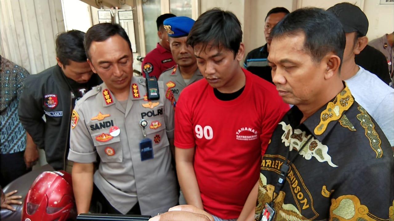 Beraksi di 12 TKP, Polrestabes Surabaya Bekuk Pelaku Begal Curanmor