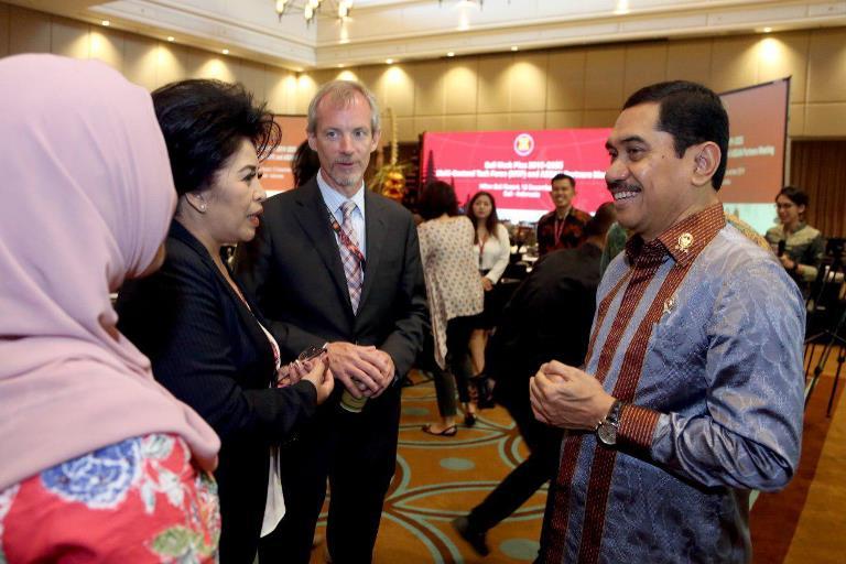 Kepala BNPT Komjen Suhardi Alius usai menghadiri kegiatan Bali Work Plan 2019-2025 Multi-Sectoral Task Force (MTF) and ASEAN Partners Meeting di The Hilton Nusa Dua Resort, Bali, Kamis (12/12/2019). (Foto: Istimewa)