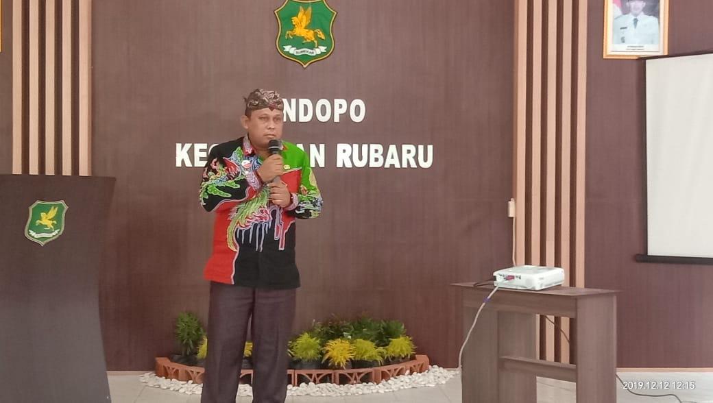 Camat Rubaru Sumenep Masuk Nominator 5 Camat Terbaik di Jawa Timur