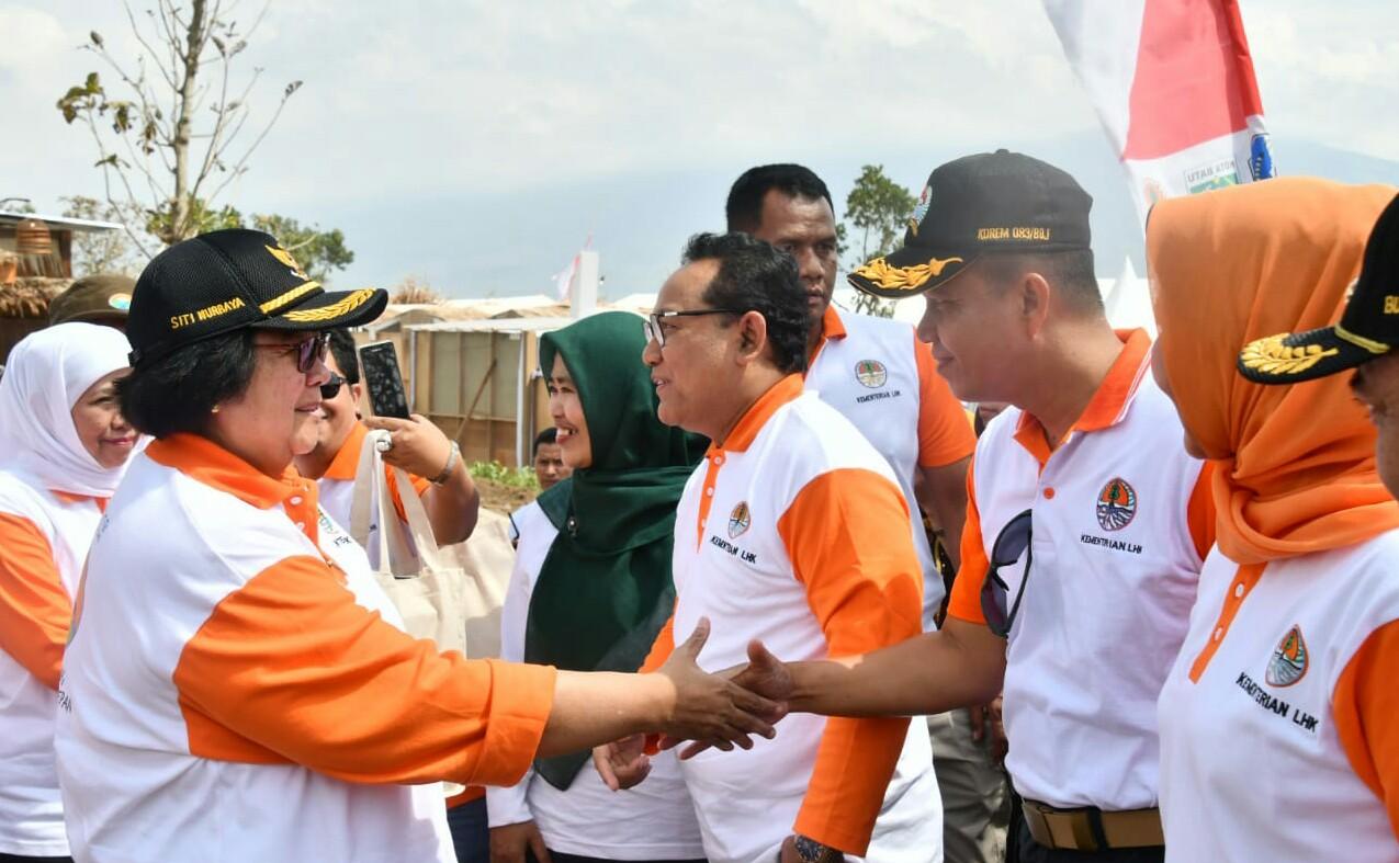 Menteri LHK Kampanyekan Gerakan Nasional Pemulihan Lahan Daerah Aliran Sungai di Kota Batu