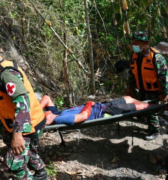 Latihan Penanggulangan Bencana di Kediri, Wujud Kepedulian TNI