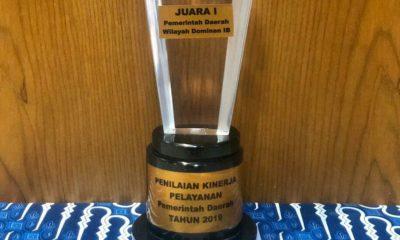 Penghargaan Peternakan Tingkat Nasional dianugerahkan kepada Provinsi Jawa Timur. (Foto: Setya W/NUSANTARANEWS.CO)
