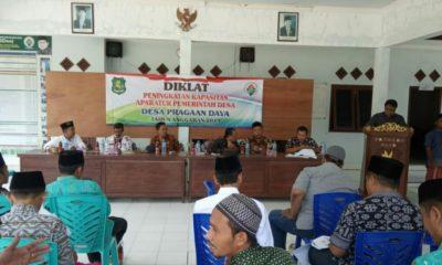 Diklat Peningkatan Kapasitas Aparatur Pemerintah Desa di Balai Desa Pragaan Daya