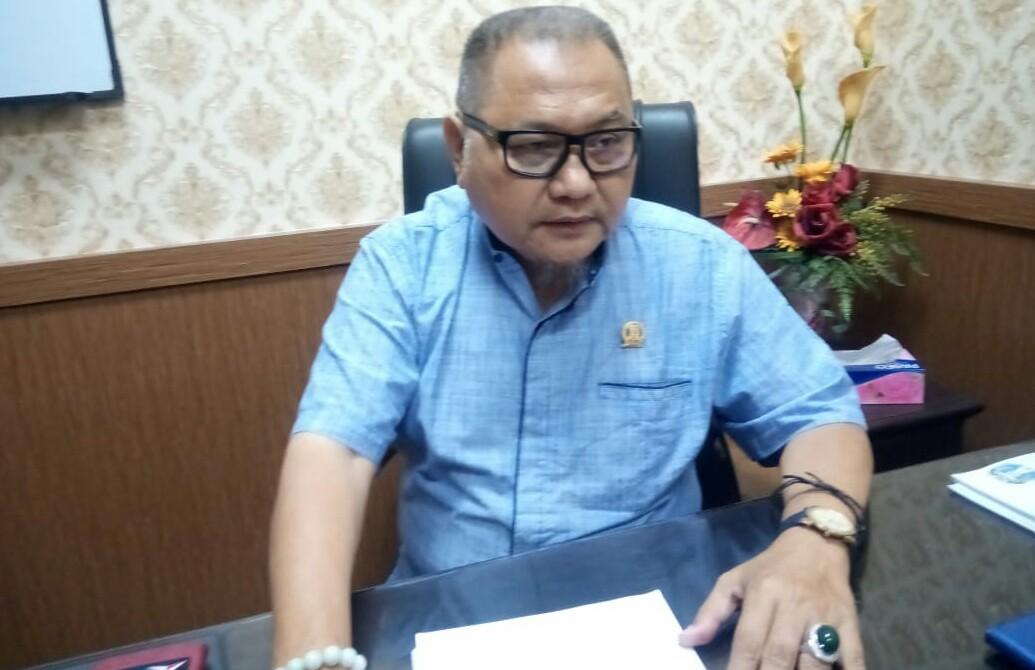 Ketua Komisi D DPRD Jatim Kuswanto saat ditemui di Surabaya, Senin (23/12/2019).