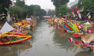 Ada Perahu Kerajaan Malaka di Festival Perahu di Surabaya