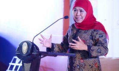 Pergantian Tahun 2019, Gubernur Khofifah Ajak Masyarakat Jogo Jatim