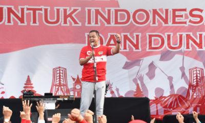 Jajaran TNI-Polri Hingga Walikota Malang Ikuti Olahraga Bersama. (Foto Istimewa)