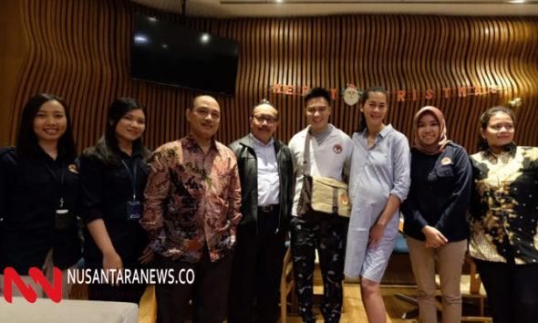 LPSK Beri Apresiasi Kepada Baim Wong. (Foto Istimewa Untuk NUSANTARANEWS.CO)