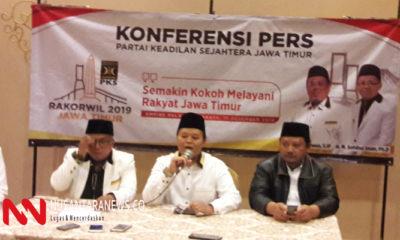 Meski Oposisi PKS Mengaku Tetap Membuka Silaturrahim Dengan Presiden. (Foto: NUSANTARANEWS.CO/Tri Wahyudi)
