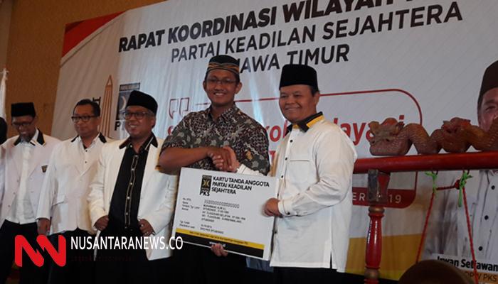 PKS Jatim Target Menang 60 Persen Pilkada 2020. (Foto: NUSANTARANEWS.CO/Tri Wahyudi)