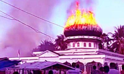 Sebuah Masjid dan Delapan Ruko Hangus
