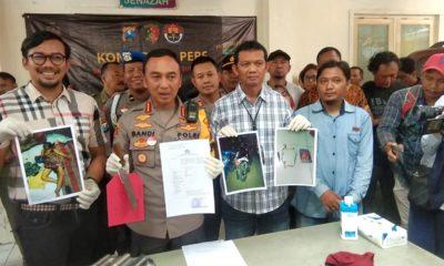 Kapolrestabes Surabaya Kombes Pol Sandi Nugroho saat di Mapolrestabes Surabaya, Jumat (27/12/2019).