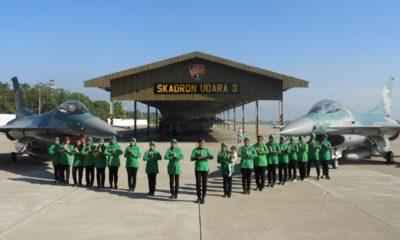 Hanggar Skuadron Udara Lanud Iswahjudi, Saksi Sinergitas Hijau dan Biru