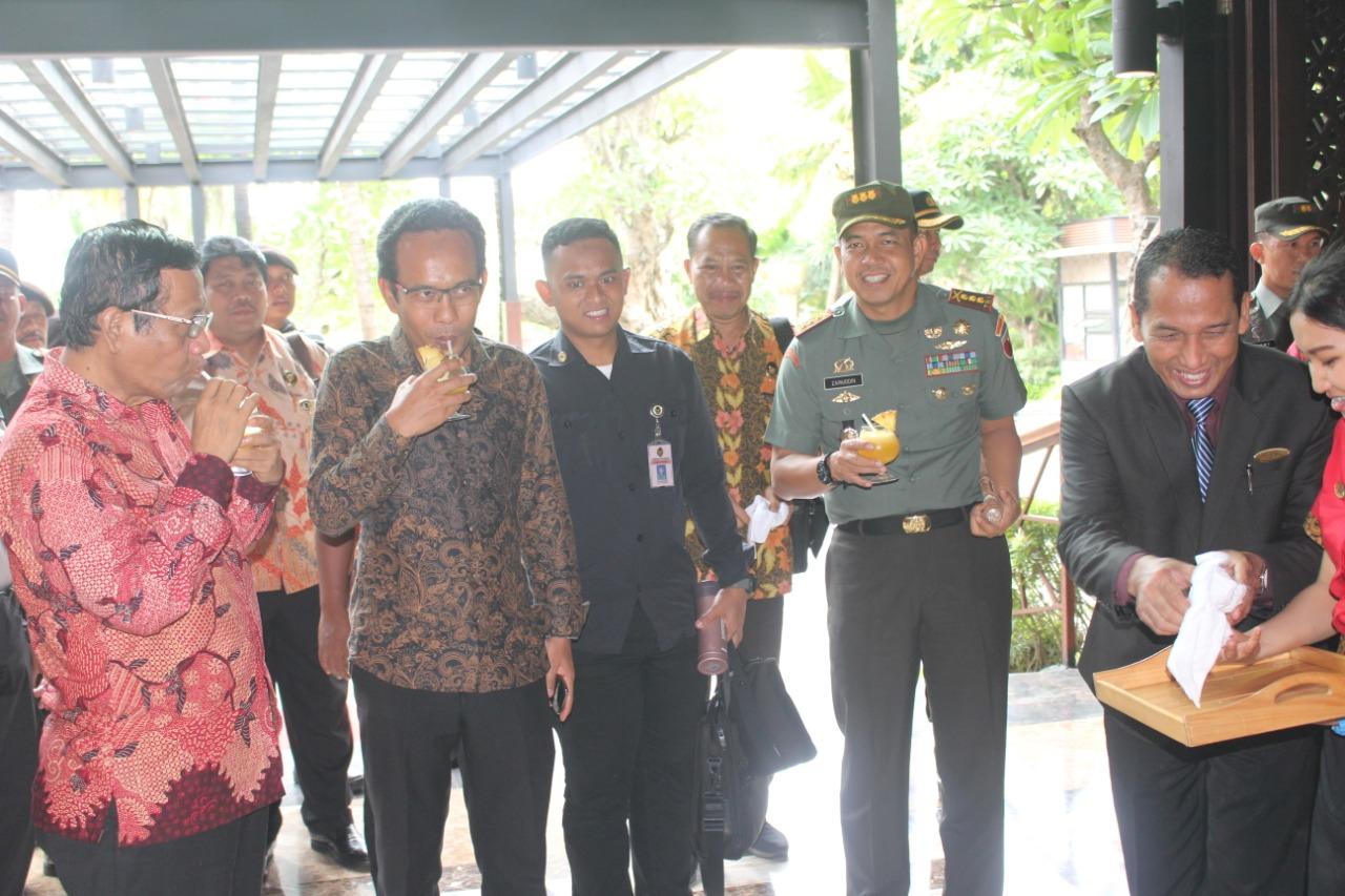 Menkopolhukam Kunjungan Kerja ke Kota Malang