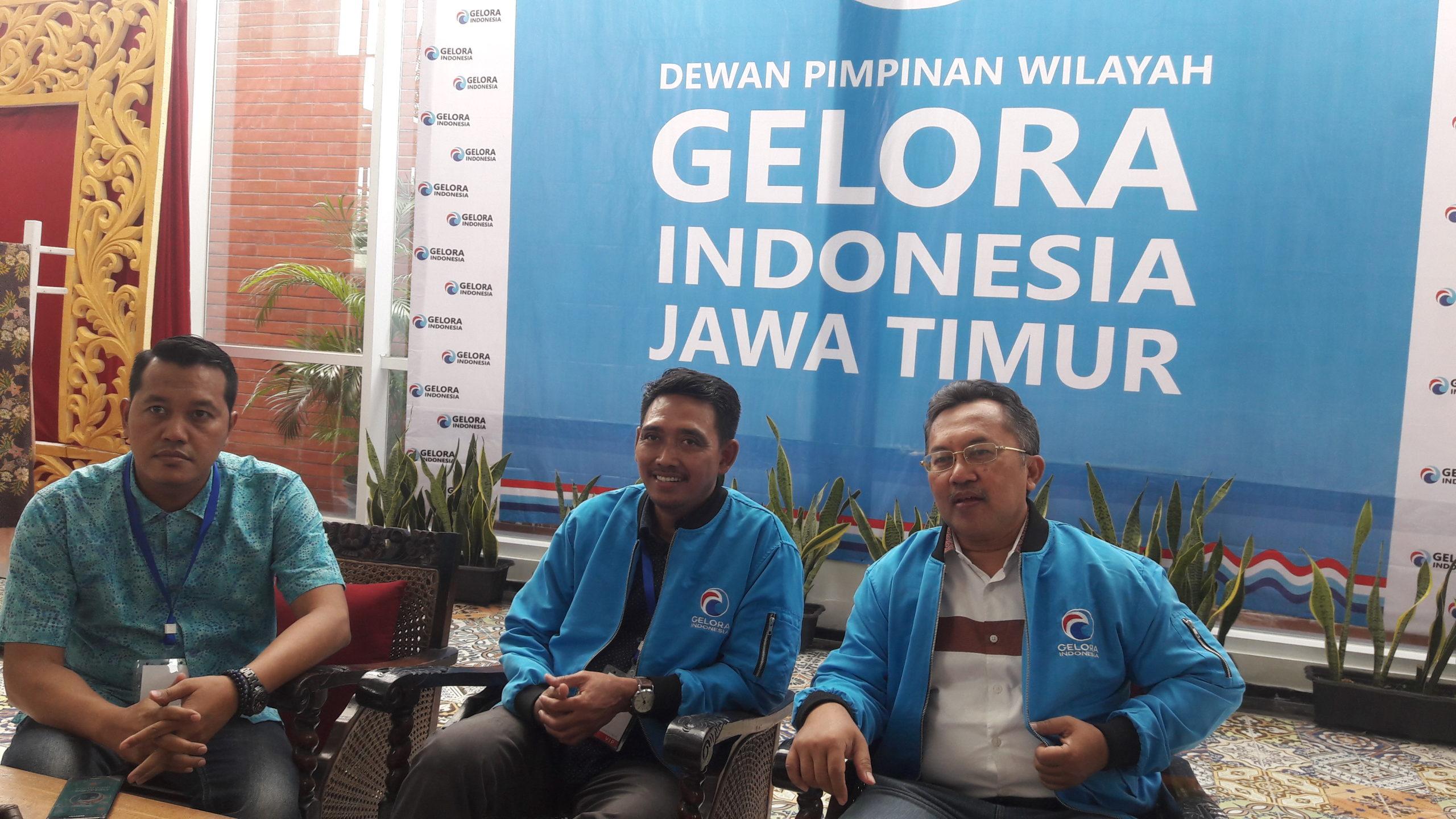Dewan Pimpinan Wilayah (DPW) Partai Gelora Jatim optimis partainya akan lolos dalam Electoral Threshold (ET)