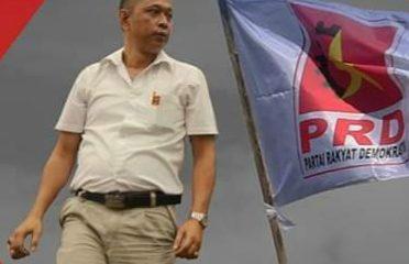 Ketua Umum Partai Rakyat Demokratik (PRD) Agus 'Jabo' Priyono.