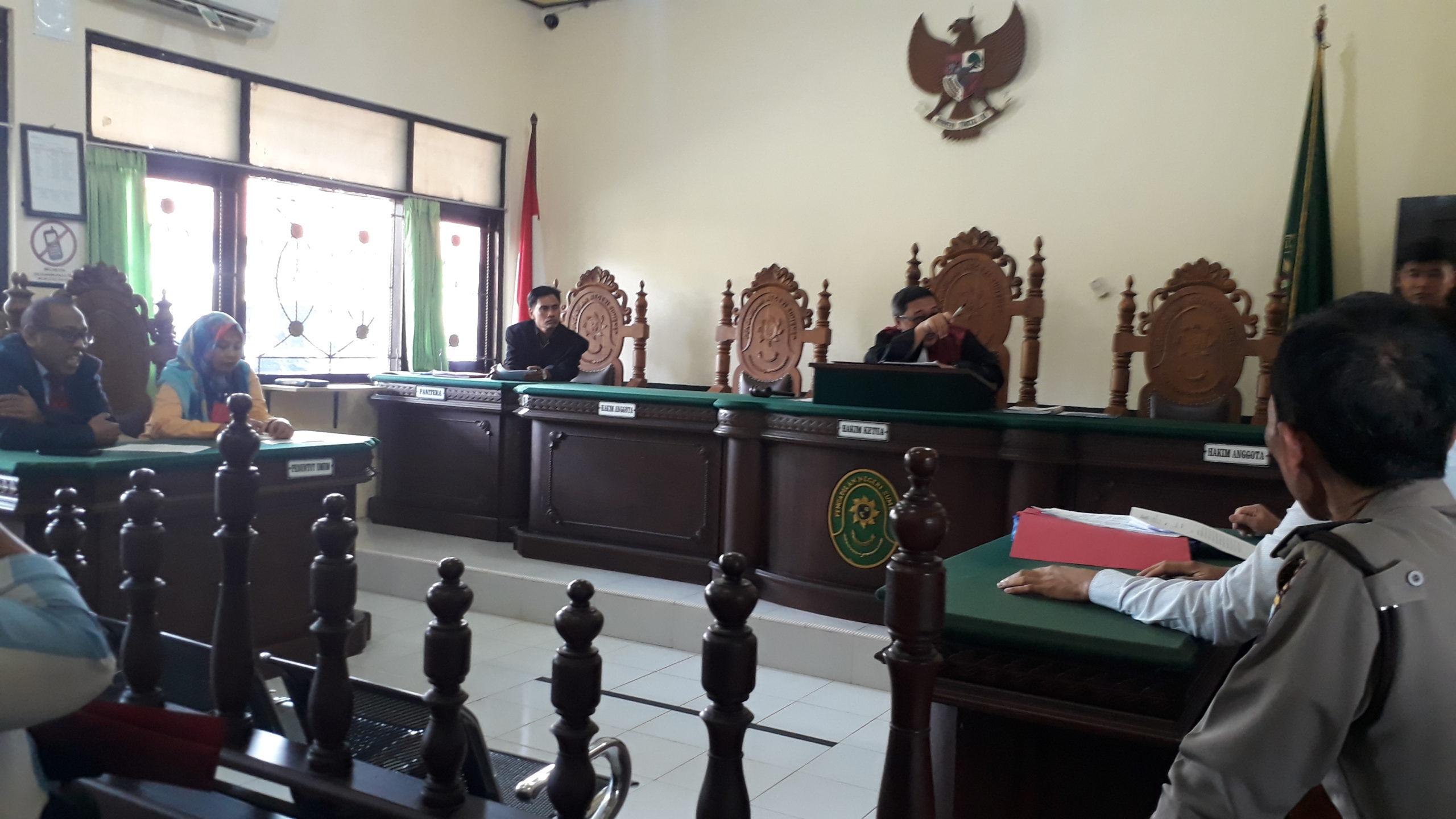 Sidang praperadilan kasus penyelewengan BBM di gelar di PN Sumenep