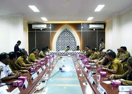 Bupati Pidie Jaya Mengadakan Raker Bahas RKPK