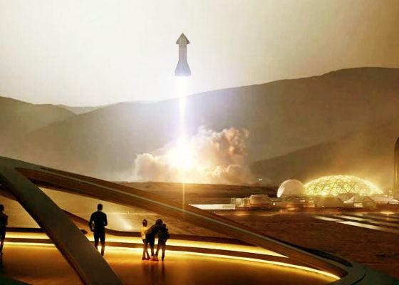 Elon Musk Akan Mengubah Manusia Menjadi Spesies Antarplanet