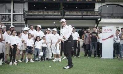"Ajang Tahunan ""Golf Inspiration"" bersama pegolf perempuan Ariya dan Moriya Jutanugarn. (FOTO: Dok.SCG/NN)"