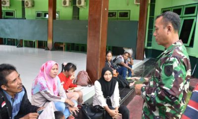 Calon Pekerja Buruh Migran yang diamankan Kodim 0911/Nnk menerima pembinaan sebelum diserahkan ke BNP2TKI, Jumat (17/1/2020)