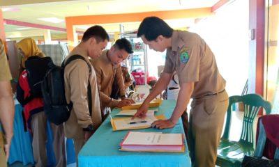 Kegiaran Rapat Koordinasi Pengelolaan Dana BOS di Nunukan, Kalimantan Utara, Selasa (21/1/2020).