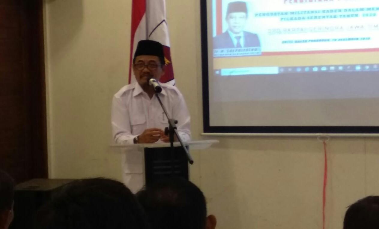 Target Menang Pilkada 2020 di Jatim IX, Gerindra Gelar Pelatihan Politik