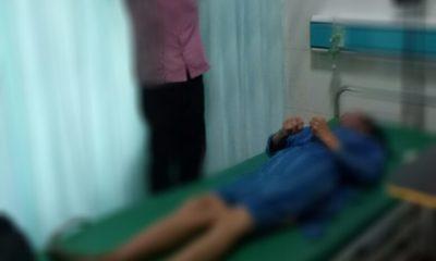 Mayat korban saat berada di RSI Kalianget