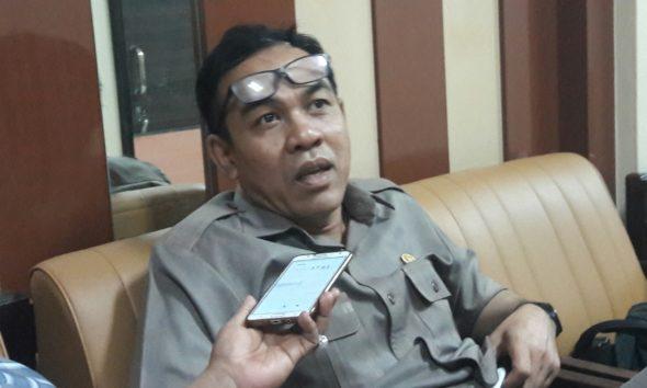Wakil Ketua Komisi C DPRD Jatim Yohanes Ristu Nugroho di kantornya, Rabu (22/1/2020).