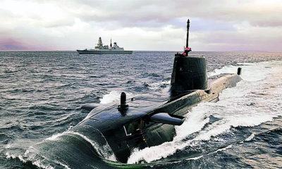 Kapal Selam Nuklir Inggris Telah Berada di Kedalaman Teluk Persia