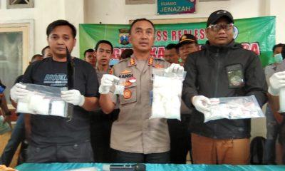 Awal Tahun 2020, Polrestabes Surabaya Tembak Mati Kurir Narkotika