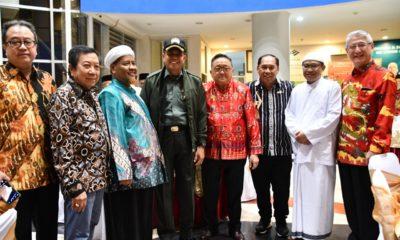 perayaan Imlek bertajuk Imlek Kebangsaan, bersama warga Tionghoa pada Sabtu (1/2) di Gedung Balai Pertiwi Ma Chung.