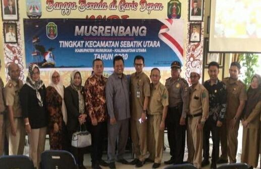 Sejumlah anggota DPRD Nunukan memantau Musrembang