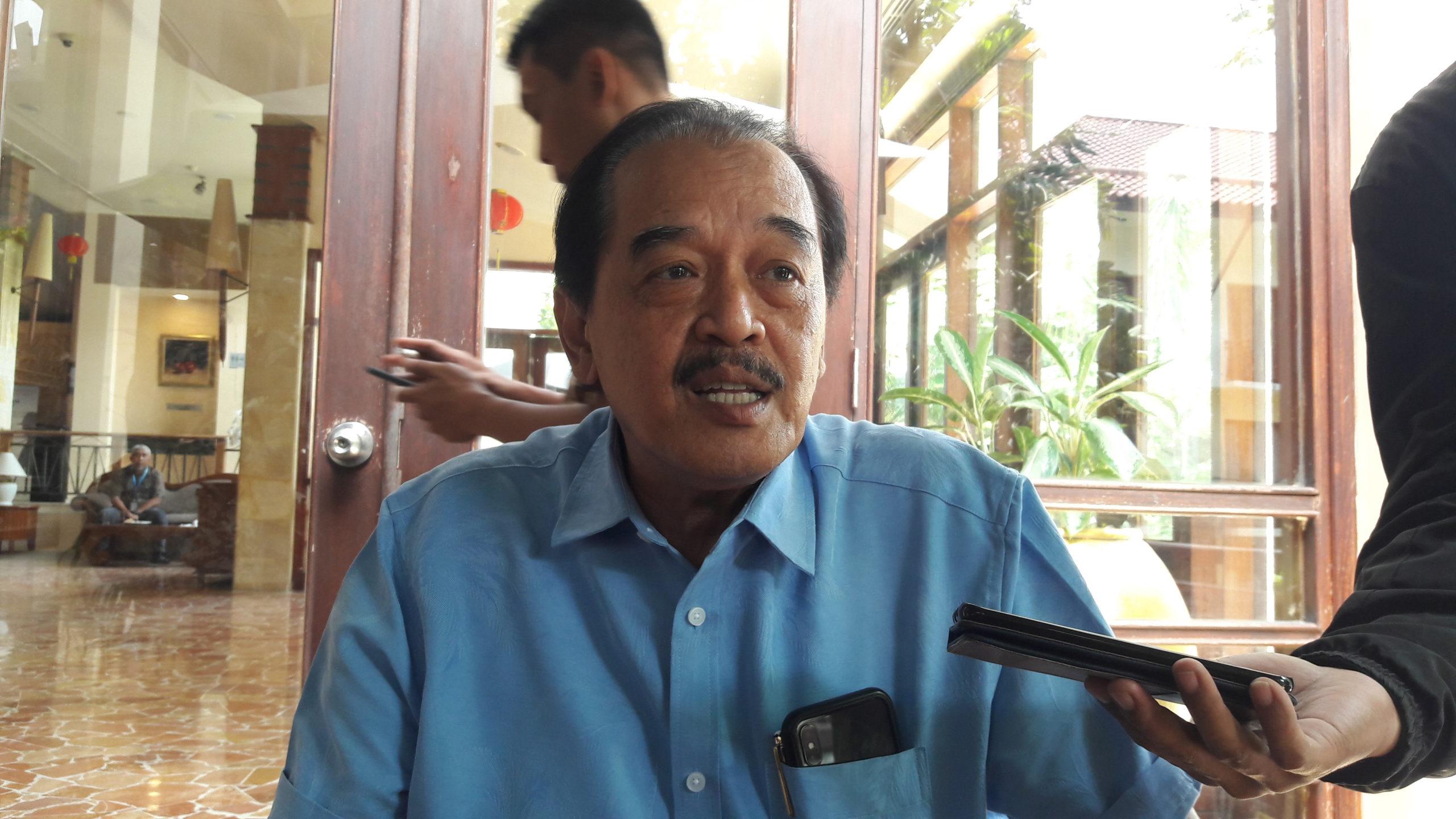 Ketua KONI Jatim Erlangga Satria Agung saat dikonfirmasi di Surabaya, senin (3/2/2020).