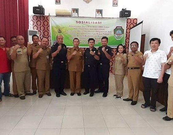 Sosialisasi DBH Cukai Tembakau di Kabupaten Landak, Kalimantan Barat