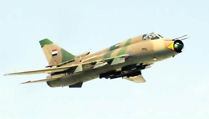 Angkatan Udara Suriah Membombardir Bandara Taftanaz Idlib