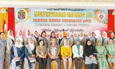 Bupati Nunukan Resmi Buka Muscab III Ikatan Bidan Indonesia (IBI)
