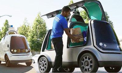Era Baru Pengiriman Barang Dengan Mobil Otonom