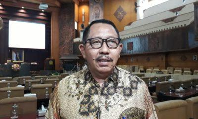 Ketua Komisi A DPRD Jatim Mayjen TNI (purn) Istu Hari Subagio bicara soal pemulangan WNI eks ISIS. (FOTO: NUSANTARANEWS.CO/Tri Wahyudi).