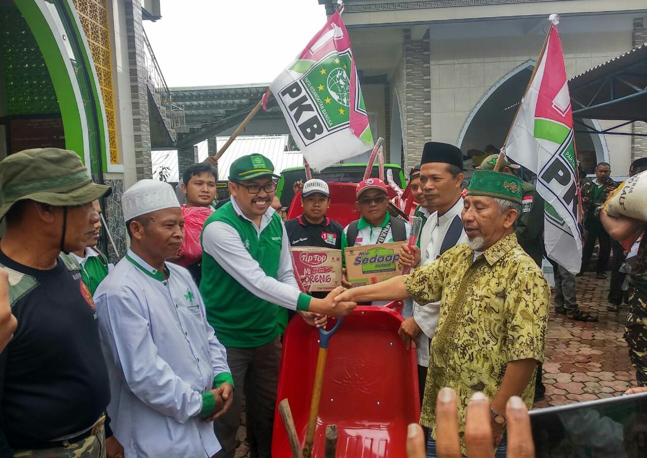 Posko Lembaga Penanggulangan Bencana dan Perubahan Iklim Nahdlatul Ulama atau LPBINU.