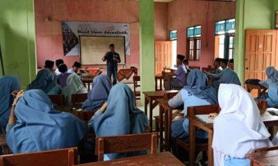 Jurnalis Sumenep Bekali Siswa SMA Pendidikan Jurnalistik