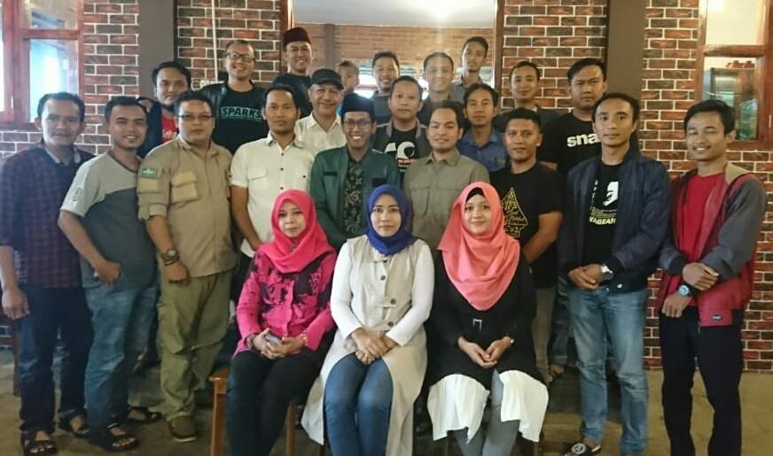 Nurul Mubin yang kebetulan alumni PC PMII Daerah Istimewa Yogyakarta dipercaya menjadi Ketua IKA PMII Batang yang pertama. (FOTO: Nusantaranews.co/istimewa)