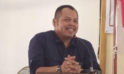 Ketua KPU Jatim Choirul Anam. Lowongan PPS. (NUSANTARANEWS.CO/Tri Wahyudi)
