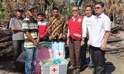PMI Pidie Jaya Salurkan Bantuan Masa Panik