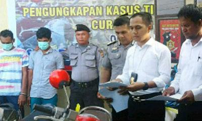 Polres Pidie Jaya Berhasil Ungkap Sindikat Curanmor