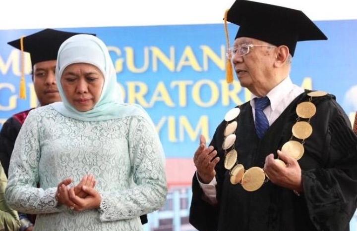 Gus Sholah Wafat, Gubernur Khofifah Ajak Masyarakat Jatim Mendo'akan