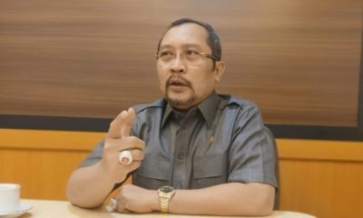 Sekretaris Golkar Jatim Sahat Tua Simanjuntak. (FOTO: NUSANTARANEWS.CO/Tri Wahyudi).